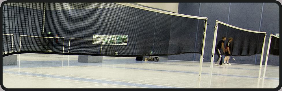 Tespo tennis sportpark b ttgen for Badminton court ceiling height